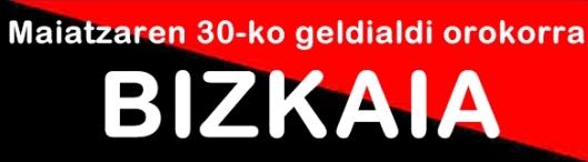 negra y roja bizkaia