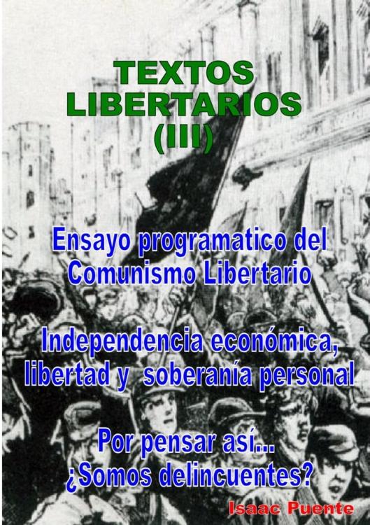 textos libertarios (III)