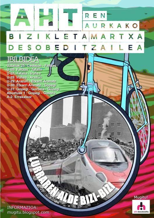AHT bizikleta martxa 2015  Castejon-Gasteiz